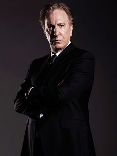 Alan Rickman by Stuart Hendry. [1/2] With thanks to Istvan from page394 & the Hungarian fansite.