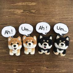 Felt Dogs, Felt Crafts, Needle Felting, Have Fun, Teddy Bear, Embroidery, Toys, Handmade, Animals