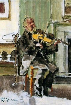 Walter Sickert - Old Heffel of Rowton House