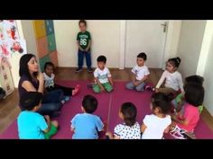 mutlu çocuklar 4 yaş grubu müzik dersi - YouTube