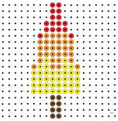 * Raketje! kralenplank Summer Activities For Kids, Summer Kids, Sonic And Amy, Pixel Pattern, Butterfly Crafts, Space Theme, Hama Beads, Pixel Art, Preschool