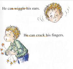 #영어  읽기의 아름다움 #English : 영어 동화책 Fancy Nancy - 귀를 움직이다. wiggle his ears.