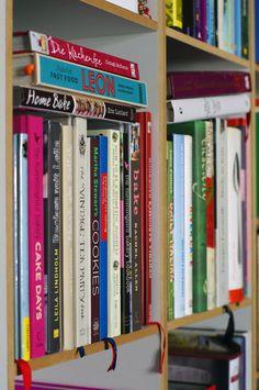 Cookbooks, this looks my kitchen shelf.