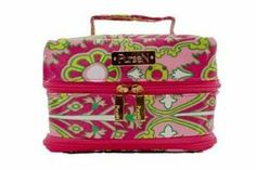 PurseN Pink Starburst/Pink Large Tiara Jewelry Case by PurseN. $48.00. 2 middle straps for removable pouches. 2 large single end pockets, 4 double side pockets,. Pink Starburst outside with pink lining. Medium to large size jewelry pieces. 6 removable pouches. Vacationer tiara jewelry case! Origami-inspired jewelry case with unique multi-pockets and six removable pouches The Vacationer Tiara Jewelry Case has visible individual pockets designed to carry medium- to large-sized jewe...