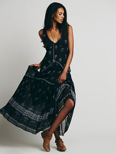 cea3ada96f5b Free People FP One Aphrodite Maxi Dress at Free People Clothing Boutique  Hippie Bohemian, Hippie
