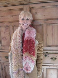 Chunky Shrug or Long Scarf Wonderful Colors by MaisonDArcy on Etsy, $250.00