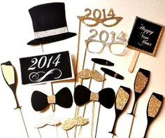 #NewYears  #2014 #photography props  ToniK ...❸ ❷ ❶ etsy.com