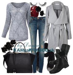 Keď sivá nie je fádna - KAMzaKRÁSOU.sk #kamzakrasou #sexi #love #jeans #clothes #coat #shoes #fashion #style #outfit #heels #bags #treasure #blouses #dress
