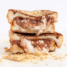 The pinnacle of decadence...the S'more Stuffed French Toast - Blog & Video.
