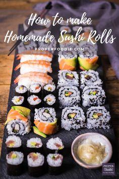 Tempura, Mochi, Nigiri Sushi, Sushi Sushi, Sushi Kit, Sushi Food, Rice For Sushi, Fruit Sushi, Salmon Sushi