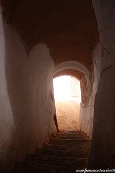 l'ingresso dell'hotel Sidi Driss