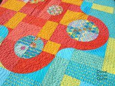 Hurle Burle Marx quilt detail