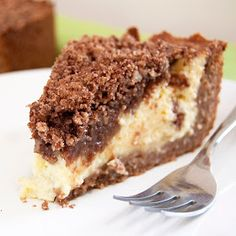 """Petersburger Streuselkuchen (would love to say streusel-kuchen too!) """"It's like a really fabulous cheesecake and a streusel coffeecake all rolled into one. Yummy Treats, Sweet Treats, Yummy Food, Cupcakes, Cupcake Cakes, Just Desserts, Dessert Recipes, How Sweet Eats, Desserts"""