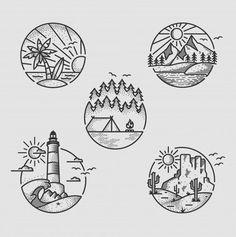 Doodle art 830773462493327058 - Dessin Source by Pencil Art Drawings, Cool Art Drawings, Doodle Drawings, Art Drawings Sketches, Easy Drawings, Tattoo Sketches, Tattoo Drawings, Circle Drawing, Drawing Drawing