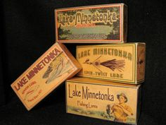 Lake Minnetonka.  Fishing lure boxes available for any lake, river, pond, creek or bay.
