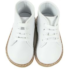 NB - size 3 - infant leather white shoes $26.99 pr | Baby-Geri's ...