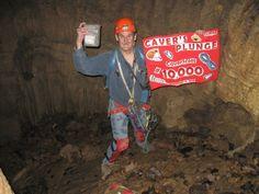 CaverScott's 10,000 Geocache! Cavers Plunge (an extreme cache) - GCRVXB #T5 #Cave #Milestone #Geocaching