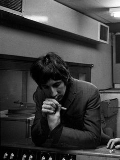 Pete Townshend in studio