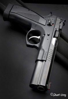 CZ 75 CTS LS-P SA/DA 9mm Black - CZ Pistols Custom - NEW FIREARMS