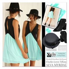 """""""SheIn"""" by janee-oss ❤ liked on Polyvore featuring Tiffany & Co., women's clothing, women, female, woman, misses and juniors"""