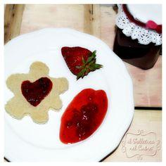 strawberry jam #jam #strawberry Jam Jam, Strawberry Jam, Panna Cotta, Ethnic Recipes, Food, Strawberry Jelly, Meals