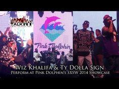 Wiz Khalifa & Ty Dolla $ign Perform At Pink Dolpin's SXSW 2014 Showcase