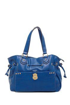 Solid Satchel Bag on HauteLook
