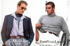 Ralph Lauren - 1991 Spring/Summer - Database & Blog about classic and stylish male imagery
