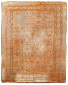 Antique Oushak Rugs (Turkish) Number 15583, Antique Turkish Rugs | Woven Accents