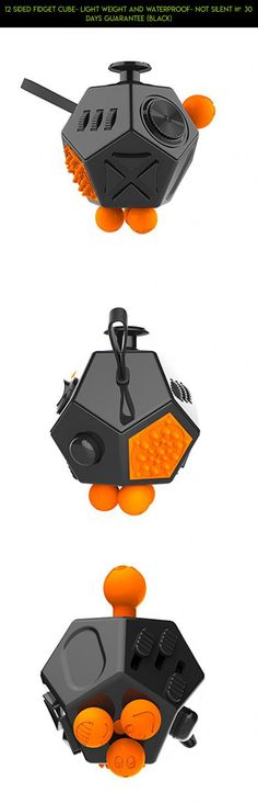 12 Sided Fidget Cube- Light Weight and Waterproof- Not Silent – 30 Days Guarantee (Black) #cube #eight #plans #camera #drone #kit #sides #racing #parts #technology #fidget #gadgets #tech #shopping #products #fpv