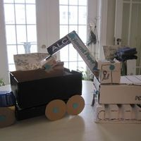 What to do with a cardboard box?