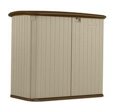 suncast bms3200 brown plastic shed