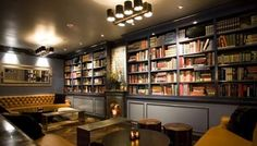 Bars of Hollywood :: Library Bar