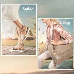 collectie Gabor voorjaar/zomer 2017 vanaf maat 35 t/m maat 42. Bij aankoop van een paar Gabor schoenen/sandalen leuke give away cadeau.