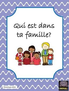 FRENCH - Laminate the family tree for many years of use. This 7 page product includes a family tree, a family vocabulary sheet, a worksheet so that students can practise the family vocabulary along with an answer key. The worksheet can be used at various French Teaching Resources, Teaching French, Teaching Tools, Teacher Resources, Teaching Ideas, Family Tree Chart, French Worksheets, Core French, Secondary Teacher