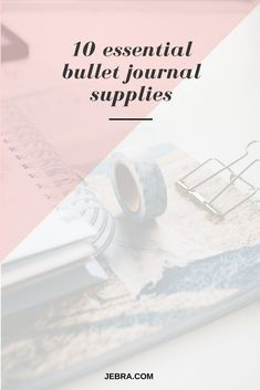 Find out what bullet journal supplies you really need to get started on the Bujo journey. Bullet Journal Essentials, Bullet Journal 101, Bullet Journals, How To Be More Organized, Types Of Journals, Out Of Your Mind, Sketch Journal, Day Planners, Bujo