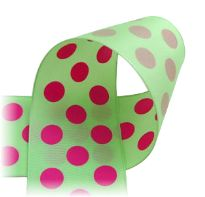 Wired Ribbon - polka dots