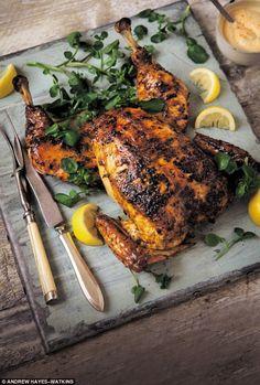 Piri Piri Chicken - get recipe here: http://www.dailymail.co.uk/femail/food/article-3760429/The-Hairy-Bikers-Piri-Piri-chicken.html
