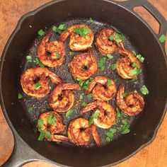 Dinner included these plump, skillet seared, spicy shrimp, finished with lemon zest and cilantro. We also enjoyed salmon papillote with a lemon, dill butter, served alongside rice and a strawberry, goat cheese and toasted almond salad. @zimmysnook