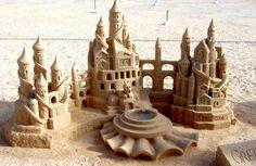 Amazing sandcastle!