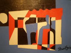 Stuart Davis 'The Outside', 1955, Milwaukee Museum of Art, Milwaukee, Wisconsin by hanneorla, via Flickr