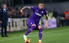 Download wallpapers Carlos Salcedo, Seria A, soccer, footballers, Fiorentina