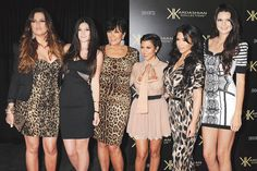 The Kardashian clan, 2011. via @WWD
