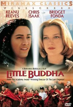 Directed by Bernardo Bertolucci. With Keanu Reeves, Bridget Fonda, Ruocheng Ying, Chris Isaak. After the death of Lama Dorje, Tibetan Buddhist monks find three children - one American and two Nepalese - who may be the rebirth of their great teacher. Bridget Fonda, Keanu Reeves Speed, Movies To Watch, Good Movies, July Movies, Spiritual Movies, Seven Years In Tibet, Little Dorrit, Bernardo Bertolucci