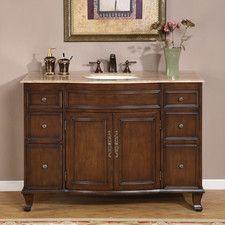 """Ostia 48"""" Single Bathroom Vanity Set"""
