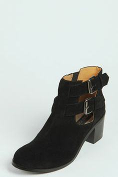 Livia Suedette Cut Work Ankle Boot at boohoo.com