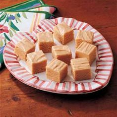 Peanut Butter Fudge Recipe | Taste of Home Recipes. I could eat all of it. It is so good! Super quick and easy.