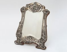 Art Nouveau Mirror. Offered by Goldsmith & Perris.