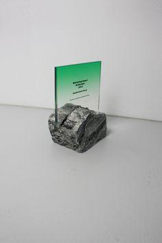 ROTTERDAM MARKETING AWARDS | Studio Sabine Marcelis / Brit van Nerven Retail Signage, Wayfinding Signage, Signage Design, Rotterdam, Standing Signage, Trophy Design, Brit, Backyard Pool Designs, Hospital Design