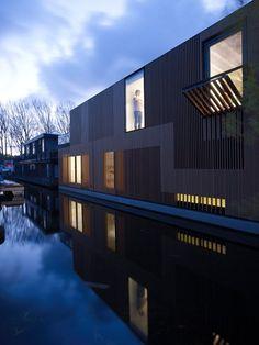 Water Villa, amsterdam, Netherlands  A project by: Framework Architecten, Studio PROTOTYPE